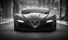 Alfa Romeo C12 GTS Concept. UgurSahinDesign.