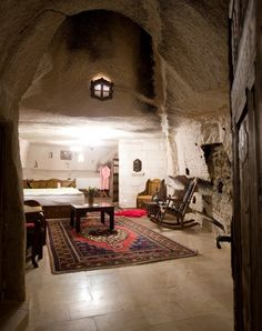 I could handle a Turkish cave room!
