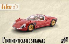 Alfa Romeo 33 stradale (1967) #auto #vintage #collezione #edicola