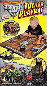 monster jam play mat. this is my next DIY project