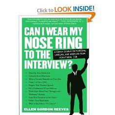 A witty, friendly, unexpected job hunter's bible that finally answers the real questions. Yes, if you're wedded to your nose ring, wear it to the interview. No, you shouldn't be e-mailing out hundreds of résumés. Writing with enormous authority and a compelling, lively voice, Ellen Reeves brings together her lifetime of experience of hiring, counseling, and résumé-doctoring into an essential guide for young job seekers.