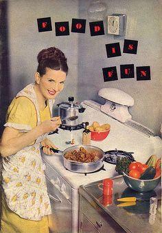 Food Is Fun, 1950.