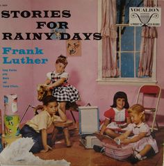 Stories For Rainy Days - Frank Luther listening to records #vintage #vinyl #lp #record #album