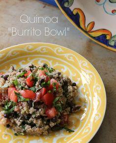 "Quinoa ""Burrito Bowl"""