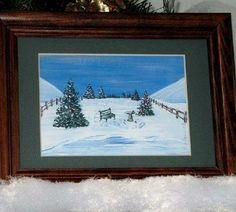 Win a Winter Miniature Matted Art Print of Your Choice from any on our site.