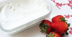 Coconut Cream 'Cool Whip' with Strawberries