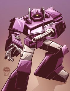 Shockwave - Transformers - Eryck Webb