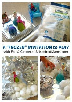 indoor frozen, birthday, idea, frozen preschool activities, kid play