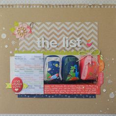 Ideas for Scrapbooking Travel Preparations | Kristy T | Get It Scrapped