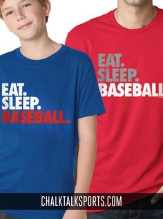 Eat. Sleep. Baseball