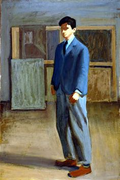 Fairfield Porter self portrait