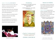 Galri-Montaj Concept Exhibitions | Life-Affirming Contemporary Art | Brochure by FlairCreativ Presents