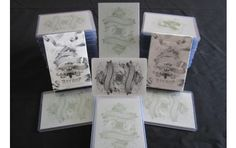 White Arcane Printing Plates Very rare!!! #playingcards #Ellusionist