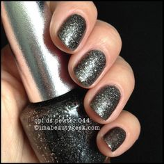 OPI Pewter Ds 044 with top coat. See lotsa DS swatches on click-thru to imabeautygeek.com