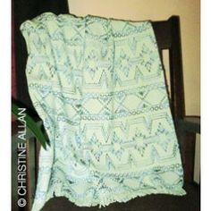 *** NEW Facet Lap Blanket