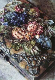 Margaret Wolfe Ribbon Flowers   Wendi Schneider
