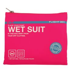 Fab.com | Go Clean Wet Suit Bag Hot Pink