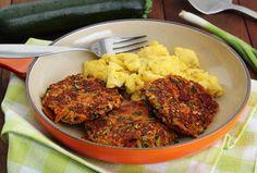 Paleo Bacon Zucchini Carrot Fritters Recipe