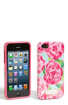 WANT!! Lilly Pulitzer® 'First Impression' iPhone 5 Case available at #Nordstrom