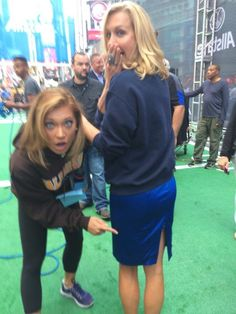 This is what happens when you win the @GMA kick-off #bigrip