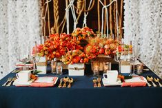 Navy and orange nautical wedding ideas by San Francisco wedding photographer, Tinywater Photography, http://tinywater.com