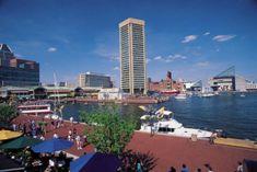 Baltimore Inner Harbor.