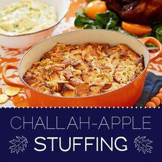 How To Make Challah-Apple Stuffing For #Thanksgivukkah