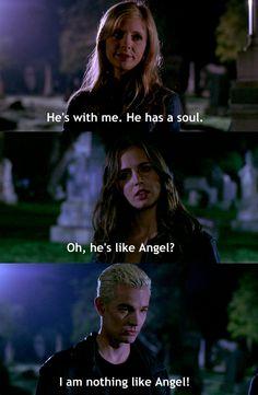Nothing like Angel