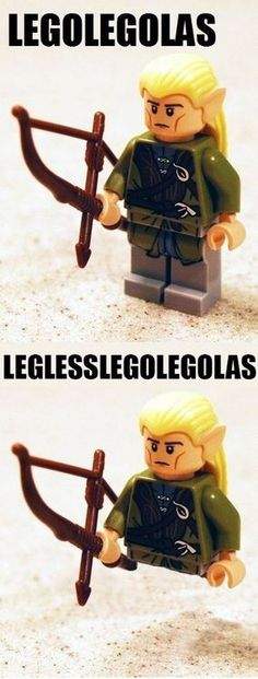 Legolas - Thank you Martin Freeman and Stephen Colbert