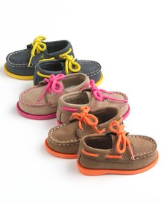 Lil' boat shoes