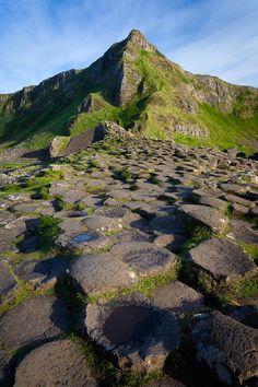 ✯ Giant's Causeway Green Peak - Ireland