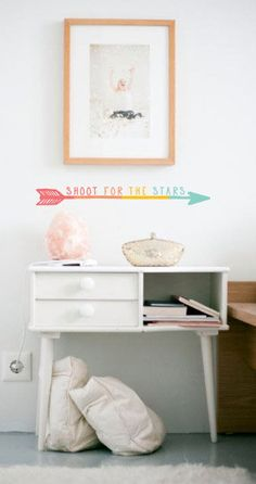 Shoot for the stars  WALL DECAL by TheLovelyWall on Etsy, $18.00