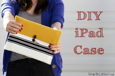 DIY: iPad Case From A Bubble Mailer Envelope