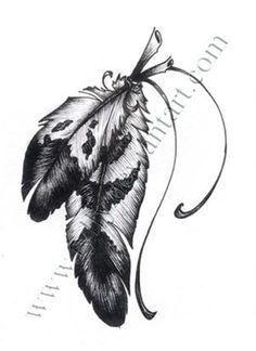eagle feather maybe add the ribbon - eagle feather maybe add the ribbon  Repinly Tattoos Popular Pins