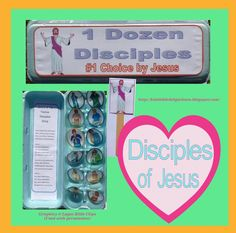 The 12 Disciples of Jesus craft (updated)