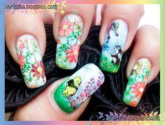 design art stuff, fanart nail, snail nail, spring nails, nail arts, christma design, nail design
