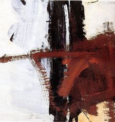 """Untitled"", by Franz Kline (1961)"
