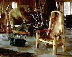 Handmade Rustic Furniture, Lodge Cabin Furniture, Log Furniture at ...