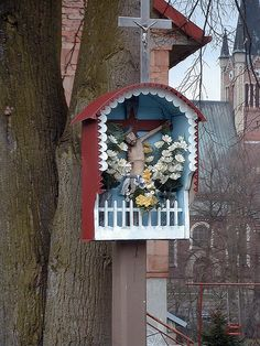 Wayside Shrine in Poland