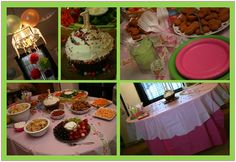 Cupcake party with Designer Cupcake Bar and decorating ideas