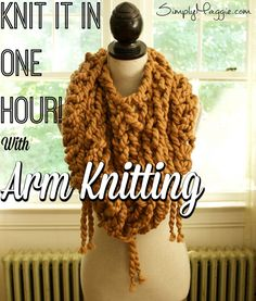 Arm Knit Triangle Sc