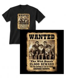 The Wild Bunch T-shirt at theBIGzoo.com, a toy store featuring 3,000+ stuffed animals. toy store