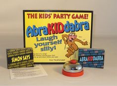 AbriKIDdabra Curses Board Game For Kids. #familyboardgames