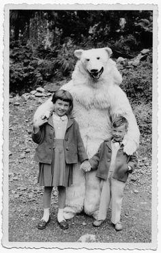 bear & child reunion