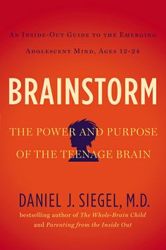 BRAINSTORM by Daniel J. Siegel, M.D. explores ways in which understanding how the teenage brain functions can help parents make what is in fact an incredibly positive period of growth, change, and experimentation in their children's lives less lonely and distressing on both sides of the generational divide.