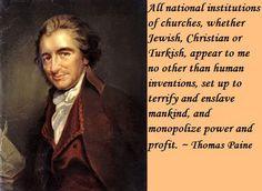 Thomas Paine<3
