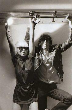 Debbie Harry + Iggy Pop