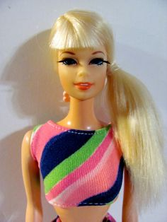 Talking Stacey Doll Platinum Hair with Original Swimsuit
