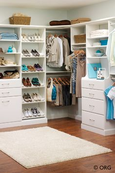 Home and Closet Organization Idea - His and Hers Closet | Colorado Space Solutions -