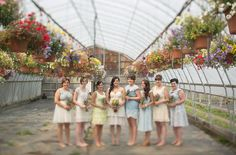 Retro-inspired bridesmaid dresses from Modcloth, Anthropologie + BHLDN